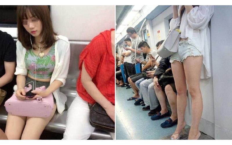 朋友自爆脱鲁过程,还附上新女友照片  ...当时地铁上人很多很挤,一不小心就get了