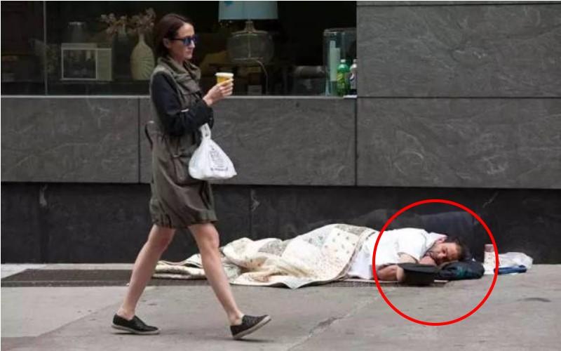 美國縣長「扮成流浪漢」生活3天2夜  一名街友卻警告他:「千萬別脫下自己的鞋子」